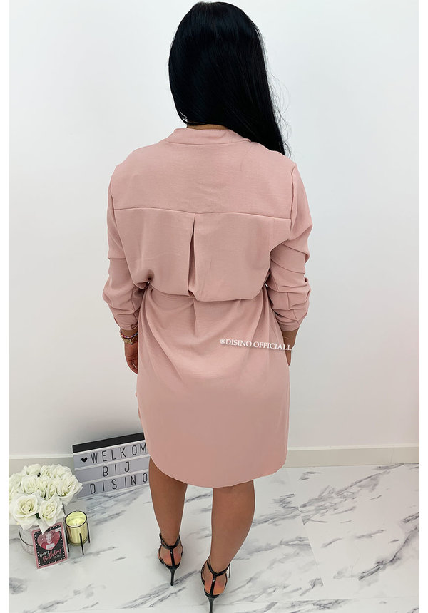 DUSTY PINK - 'MEREL' - COMFY DRESS