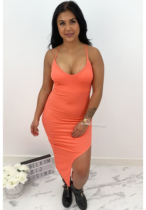 CORAL - 'DEWI' - BODYCON DRESS
