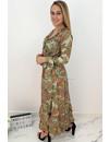 YELLOW - 'FLORINDA' - LUXE BOHO CHIQUE LONG SLEEVE MAXI DRESS