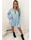 LIGHT BLUE - 'EMMA' - INSPIRED DRESS