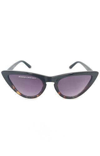 BROWN - 'ROME' - INSPIRED CAT EYES SUNNIES