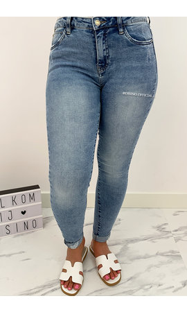 QUEEN HEARTS JEANS - BLUE - PERFECT SKINNY JEANS - 727