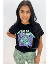 BLACK MINT - 'LOVE OF THE WILD' - AMBIKA LEO TEE