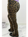 BROWN - 'ELIN LEO STAR' - AMBIKA SUPER SOFT COMFY FLARE PANTS