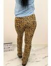 BEIGE - 'ELIN LEO' - AMBIKA SUPER SOFT COMFY FLARE PANTS