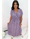 LILA - 'VEERLE' - LEOPARD PRINT MAXI DRESS