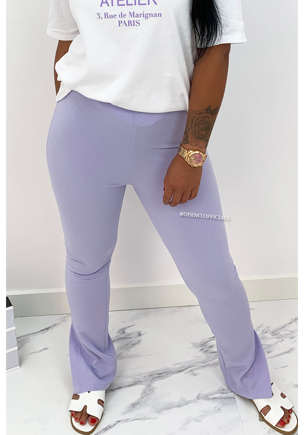 LILA - 'NOELLE' - HIGH WAIST SIDE SPLIT LEGGING PANTS