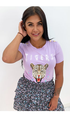 LILA - 'FUNKY TIGERS' - INSPIRED TEE
