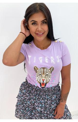 LILA - 'FUNKY TIGERS' - INSPIRED TEE