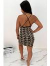 NUDE - 'SHANNON SPAGHETTI' - PREMIUM QUALITY INSPIRED BODYCON DRESS