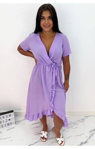 LILA - 'LAGERA V2' - BASIC RUFFLE MAXI DRESS