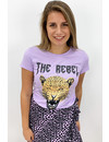LILA - 'THE REBEL' - INSPIRED LEO HEAD TEE