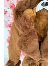 CAMEL - 'TABITHA LONG' - SUPER QUALITY LONG LAMMY FUR COAT