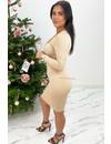 NUDE - 'NICOLE DRESS' - PERFECT FIT BODYCON DRESS