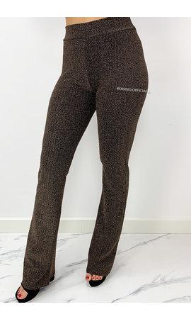BRONSE - 'LIMA' - SPARKLE FLARED PANTS