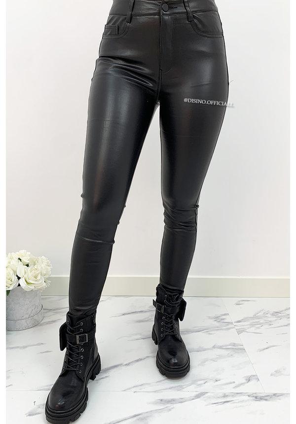 BLACK - VS MISS - 'PERFECT VEGAN LEATHER PANTS' - 19050