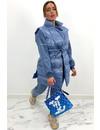 BLUE - 'SAINT' - BODYWARMER 3 PIECE JOGGER SET