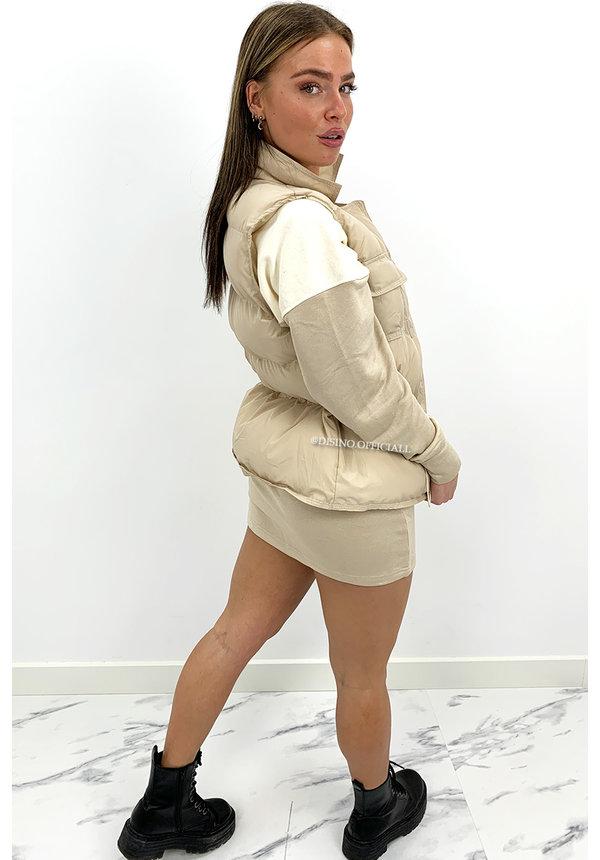 CREME - 'AMOUR SWEATER DRESS' - COMFY SWEATER DRESS