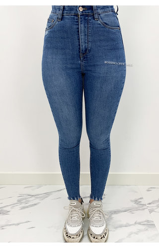 QUEEN HEARTS JEANS - LIGHT BLUE - PERFECT SUPER HIGH WAIST - 9171