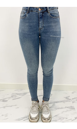 LAULIA - WHITEWASH BLUE - HIGH WAIST SKINNY JEANS - 336