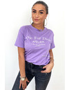 LILA - 'DIE FOR DIOR' - PREMIUM QUALITY OVERSIZED INSPIRED TEE