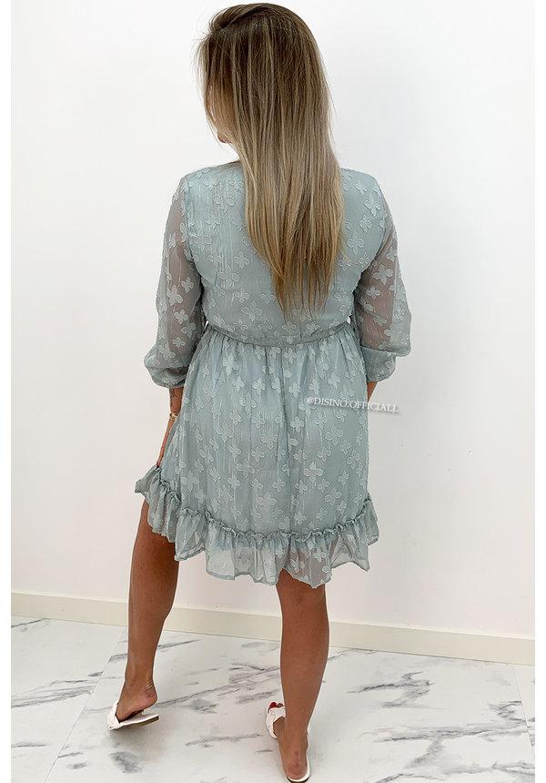 MINT GREEN - 'JAMILLA' - INSPIRED RUFFLE DRESS