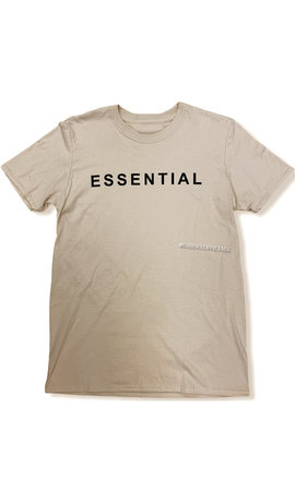 BEIGE - 'ESSENTIAL' - PREMIUM QUALITY OVERSIZED INSPIRED TEE