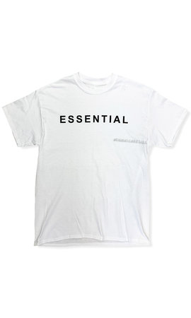 WHITE - 'ESSENTIAL' - PREMIUM QUALITY OVERSIZED INSPIRED TEE