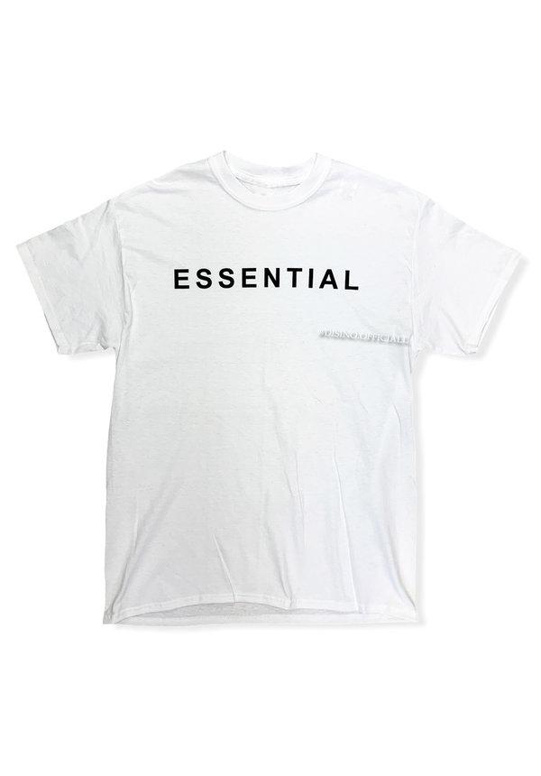 WHITE - 'ESSENTIAL' - PREMIUM QUALITY OVERSIZED INSPIRED TEE