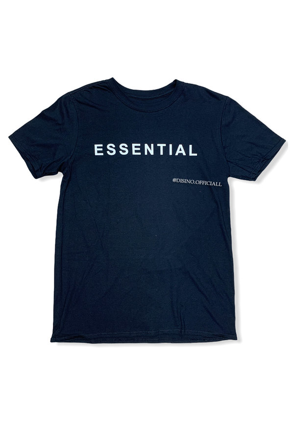 BLACK - 'ESSENTIAL' - PREMIUM QUALITY OVERSIZED INSPIRED TEE