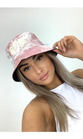PINK - 'TIE DYE BUCKET HAT' - INSPIRED DOR BUCKET HAT