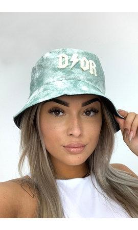 MINT GREEN - 'TIE DYE BUCKET HAT' - INSPIRED DOR BUCKET HAT