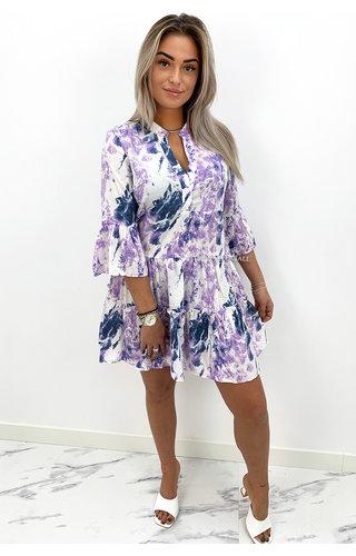 LILA - 'EMILY' - TIE DYE INSPIRED SUMMER DRESS