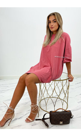 ROSE - 'ESTÉE' - PREMIUM QUALITY BIG TEE DRESS