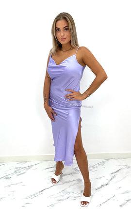 LILA - 'SELMA' - SATIN DROP DRESS