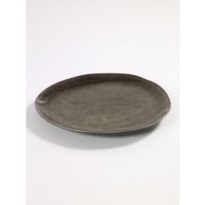 Serax  Ovaal bord Pure grijs 27 cm