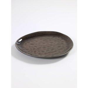Serax Pure Ovaal bord bruin 27 cm