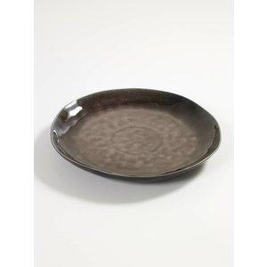 Serax  Plat bord Pure bruin 27 cm