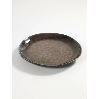 Serax  Plat bord bruin, Pascale Naessens 27 cm