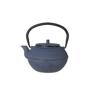 Cosy & Trendy Theepot gietijzer 1,2 liter Kinosaki blauw grijs