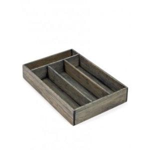 Serax  Bestekbak hout 30x20,5x5