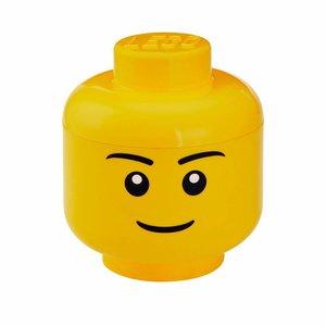 Lego Opbergbox hoofd jongen groot