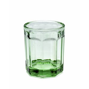 Paola Navone Glas groen medium, set a 4