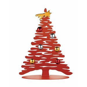 Alessi Bark for Christmas Kerstboom rood