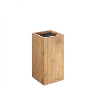 Zassenhaus Messenblok hoekig bamboe