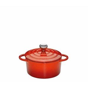 Kuchenprofi Mini-cocotte gietijzer rood 10 cm