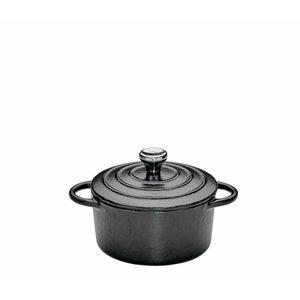 Kuchenprofi Mini-cocotte gietijzer zwart 10 cm