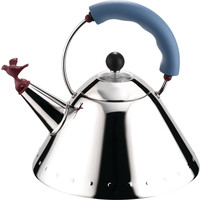 Alessi Waterketel Michael Graves blauw