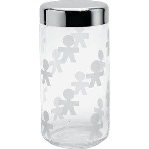 Alessi Voorraadbus Girotondo glas, 21,5 cm hoog