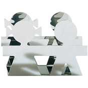 Alessi Servet- (enveloppe) houder Girotondo inox